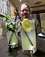 Mojito and Georgian Bay Lemonaid. (Daxcat) Tags: porthope port hope vacation carlyle inn beach
