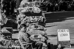 Vende-se Lenha (leocsaad) Tags: man selling wood black white camanducaia monte verde lenha vendese vendendo homem simple life minas gerais brazil brasil nature campo interior mountain