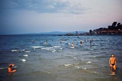 from more pleasant past (mario leko) Tags: citybeach bavice split postcard