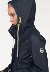 Schmuddelwedda raincoat (ShinyNylonFan) Tags: schmuddelwedda raincoat hood girl