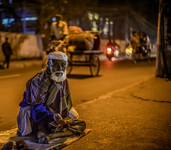Wizened (negative_charge) Tags: night dhaka sodium light palashi