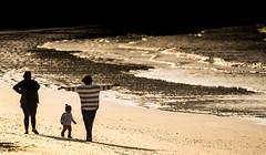 LOVE doesn't need words... (Deborah Kelland) Tags: grandmother grandparents mother children child oneroa love beach sea seaside waihekeisland waiheke