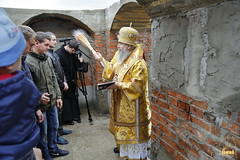 115. The Laying of the Foundation Stone of the Church of Saints Cyril and Methodius / Закладка храма святых Мефодия и Кирилла 09.10.2016