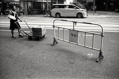 (David Davidoff) Tags: people street hardlife deliveryman blackwhifefilm city urbanprospects