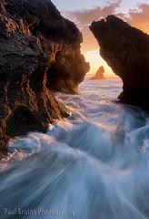 Brenton Sunset Crack (Panorama Paul) Tags: paulbruinsphotography wwwpaulbruinscoza southafrica westerncape brentononsea jaapsebaai knysna rocks waves longexposure sunset nikond800 nikkorlenses nikfilters
