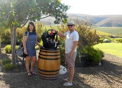 Andy and Natasha (RobW_) Tags: africa andy restaurant march south creation valley western cape tasting friday natasha wines 2015 hemelenaarde mar2015 06mar2015