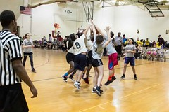 Girls Basketball Game Double Header GRPS Montessori Union High March 07, 2015 30 (stevendepolo) Tags: girls game basketball youth high union grand rapids montessori grps