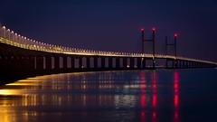 Second Severn Crossing (technodean2000) Tags: bridge england wales bristol nikon crossing estuary severn seven second channel lightroom d610