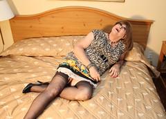 new79023-IMG_2977t (Misscherieamor) Tags: tv feminine cd tgirl transgender mature sissy tranny transvestite slip crossdress ts gurl tg travestis prettydress travesti travestie m2f onbed xdresser tgurl slipshowing
