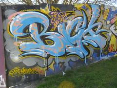 'RIP BICH' by SORN (Brighton Rocks) Tags: graffiti brighton rip bich sorn