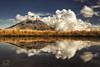 Surrounded (bgspix) Tags: newzealand mountain lake reflection clouds landscape volcano mirror reflect nz symetry taranaki mttaranaki canoneos5dmarkiii ef1635mmf4lisusm