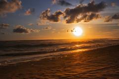 "Golden Sky and Reddish Sand #Parangtritis (doni ""pengjon"" irawan) Tags: indonesia yogyakarta parangtritis bantul pantaiparangtritis parangtritisbeach romanticsunset indonesiasunset sunsetinyogyakarta sunsetparangtritis"