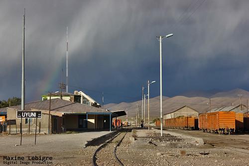 Estación de tren de Uyuni - Bolivia