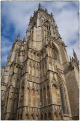 York Minster (Andy J Newman) Tags: york nikon cathedral bluesky minster