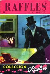 E.W. Hornung - Raffles (Acme) (Johny Malone) Tags: fiction mystery book libro paperback cover misterio cubierta ficcin rstica ewhornung gentlemanthief ajraffles editorialacme