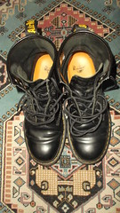 DSCF6674 (rugby#9) Tags: original black feet yellow boot hole boots lace dr air 14 7 icon wear size stitching comfort sole doc cushion soles dm docs eyelets drmartens bouncing airwair docmartens martens dms cushioned wair doctormarten 14hole yellowstitching