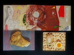 "Passover - Pessach: Seder Matzah   Beitzah (roasted egg  ei) Maror Blood - Holy Saturday - Karsamstag - ""an apple a day keeps the doctor away - An ENSO (Japanese: circle, kreis) a Day ..."" 4. April 2015 (hedbavny) Tags: vienna wien red food art grave ink circle easter austria sketch sterreich blood essen pattern sheep spiegel kunst diary tomb egg sketchbook workshop silence cycle letter lamb wabisabi matze ostern grab horseradish tagebuch bitter ei auszug exodus aktion fleeing blut passover kreis sanguine stille flucht schaf kren enso matzah meerrettich lamm nahrung werkstatt pessach handschrift skizze metapher speise skizzenbuch maror fermate paperpattern schnittmuster ereignis holysaturday blacksaturday beitzah aktionismus hllenfahrt sklaverei zyklus karsamstag schnittmusterbogen hedbavny ingridhedbavny"