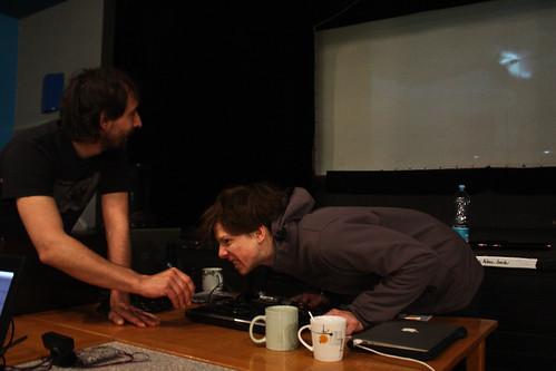 "WORKSHOP: Percepce lidského oka / Video jako zdroj světla na divadle • <a style=""font-size:0.8em;"" href=""http://www.flickr.com/photos/83986917@N04/17084714672/"" target=""_blank"">View on Flickr</a>"