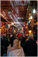 Marrakech (tomjodh) Tags: africa city travel people urban market morocco marrakech souk