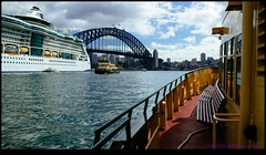150412-9975-EOSM.jpg (hopeless128) Tags: ferry ship sydney australia cruiseship newsouthwales sydneyharbourbridge 2015 portjackson radianceoftheseas opalsunday