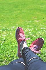 DSC_2311 (wonderarta) Tags: 50mm nikon chillin sneakers keds