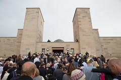Anzac Day, Australian War Memorial, National Service. 25/04/15 (Australian War Memorial) Tags: australia canberra australiancapitalterritory 930amearlymorningshot