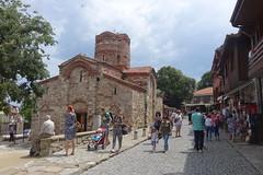 Church of Saint John the Baptist, Nessebar, Bulgaria (alex_7719) Tags: street nessebar nesebar nesebur bulgaria church tourists