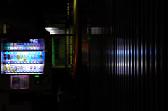 190/366 : Vending machine (hidesax) Tags: leica japan night reflections lights cityscape nightscape x vendingmachine saitama vario ageo 365project 190366 hidesax 366proejct 366project2016