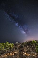 Starry Sky (Christian Ferrari) Tags: blue light sky white night dark way landscape star milk milky milkway