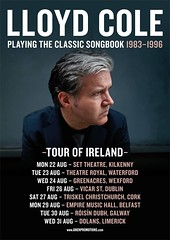 Lloyd Cole - Classic Songbooks Tour Posters (Doug Seymour) Tags: lloyd cole classic songbooks tour posters august september 2016 photography by doug seymour