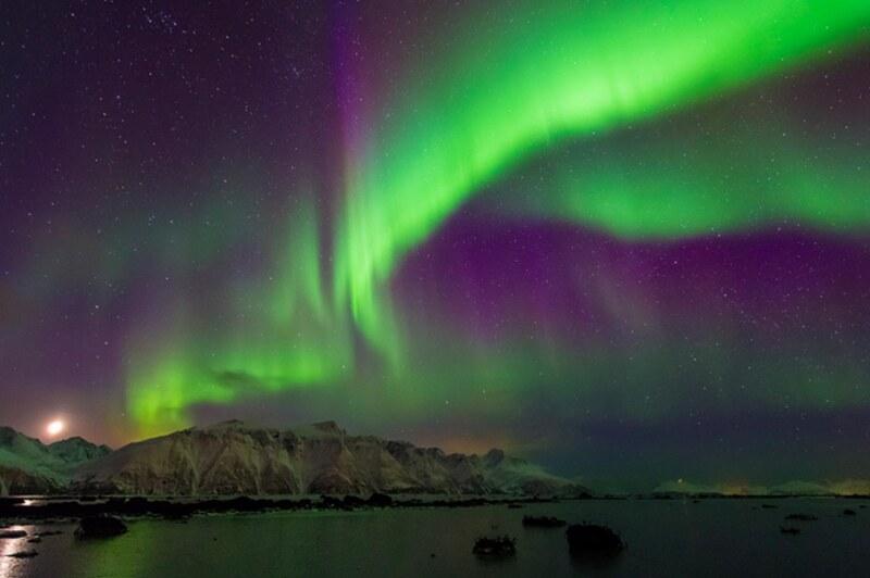 大地假期 北極光