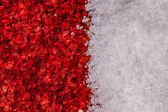 (HMM) Spicy Hot and Sweet - Cayenne Pepper Powder and Sugar (aotaro) Tags: tamron90mmf28macro sugar 272e opposites redpepperandsugar spicyhotandsweet hmm macromondays redpepper ilce7m2