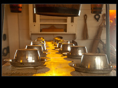 IMG_3119 table set (mikemcfallphotography) Tags: hmswarrior portsmouth portsmouthhistoricdockyard mikemcfall michaelmcfall