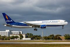 CP-2881 - Boeing 767-33A(ER) - Boliviana de Aviacin (BoA) (Bjoern Schmitt) Tags: cp2881 boliviana de aviacin boa boeing 76733aer cn 27377561 kmia miami mia arrival airplane