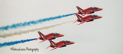 Formation (RebeccaLouise Photography) Tags: airforce royalairforce skies nationaltreasure redarrows riat airtattoo airshow planes smoke blue white red
