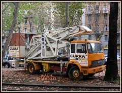 Iveco 175-17 (DaveFuma) Tags: truck lorry removals demenagements iveco 17517 autocarro piattaforma aerea aerial basket lkw