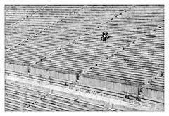 Athens; Olympic Stadium 1896 (drasphotography) Tags: athens athen greece griechenland architecture architektur couple monochromatic monochrome monotone blackandwhite bw bn sw schwarzweis schwarzweiss drasphotography nikond7000 d7k nikon olympic stadium 1896