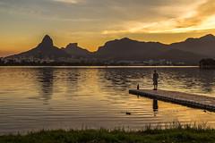 Conteplando / Contemplating (Pablo.Barros) Tags: city travel light cidade brazil southamerica brasil riodejaneiro landscape cityscape lagoon paisagem lagoa lagoarodrigodefreitas americadosul paisagemurbana travelphotography