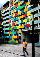 color up your life (/ Georg /) Tags: street urban color building architecture dresden pattern colours streetphotography human catchy element humaningeometry
