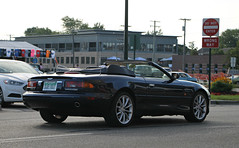 Aston Martin DB7 Vantage Volante (SPV Automotive) Tags: black sports car martin exotic aston volante vantage db7