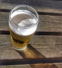 Have a beer (sander_sloots) Tags: bier jupiler beer biere chaam bank glas verre glass pint vaasje weekend koud cold industriestraat brabant