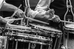 Drumming. (squirrel.boyd) Tags: bagpipes kilts pipebands scottish drums