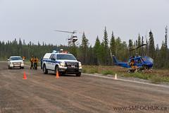Stephen M. Fochuk Ingraham Trail Fire (Stephen M. Fochuk) Tags: cgqlg gsh nwt northwestterritories forestfire greatslavehelicopters ingrahamtrail zf028