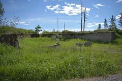 Lentokonesuoja (porkkalanparenteesi) Tags: friggesby vanha lentokentt soviet urban exploring kirkkonummi abandoned airfield