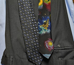 Tie One On (BKHagar *Kim*) Tags: ties design space tie clothes fabric shuttle choice kens universe bkhagar