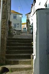 St. Ives (Renate Karle) Tags: stives treppen