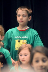 2016-04-07 (95) Fred D ES 2nd grade show (How Does Your Garden Grow) evening (JLeeFleenor) Tags: photos photography virginia va leesburg loudouncounty frederickdouglass elementaryschool twins inside indoors youthactivities youth skit