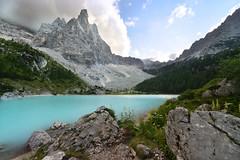 Lago di Sorapis (dr4gonlee1991) Tags: montain sorapiss lake sky pornsky azure wonderful nature mothernature cortina dampezzo dolomiti