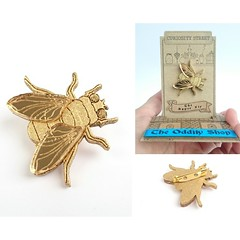 The Super Fly #fly #gold #charm #Fortune #brooch  #love #me #giftforher #giftforhim #follow #followme #oddity #popup #popupshop #etsyshop #etsy #giftideas #gifts #heartinajar #you #us #london #photooftheday #curious #curiositystreet #pushdownpopup (curiositystreet) Tags: gifts me fortune giftforhim brooch heartinajar oddity charm pushdownpopup follow etsyshop fly photooftheday giftideas etsy popup giftforher curiositystreet london popupshop love you followme curious us gold