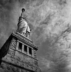 New York City 2016 (a.lower.photo) Tags: newyork newyorkcity film filmisnotdead mediumformat hasselblad statueofliberty ellisisland